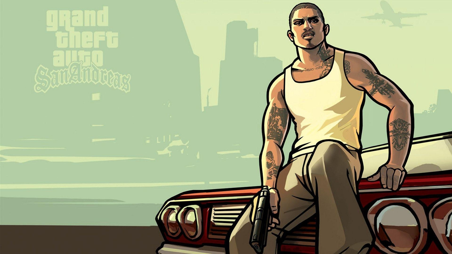 10 New Gta San Andreas Backgrounds FULL HD 1080p For PC Background