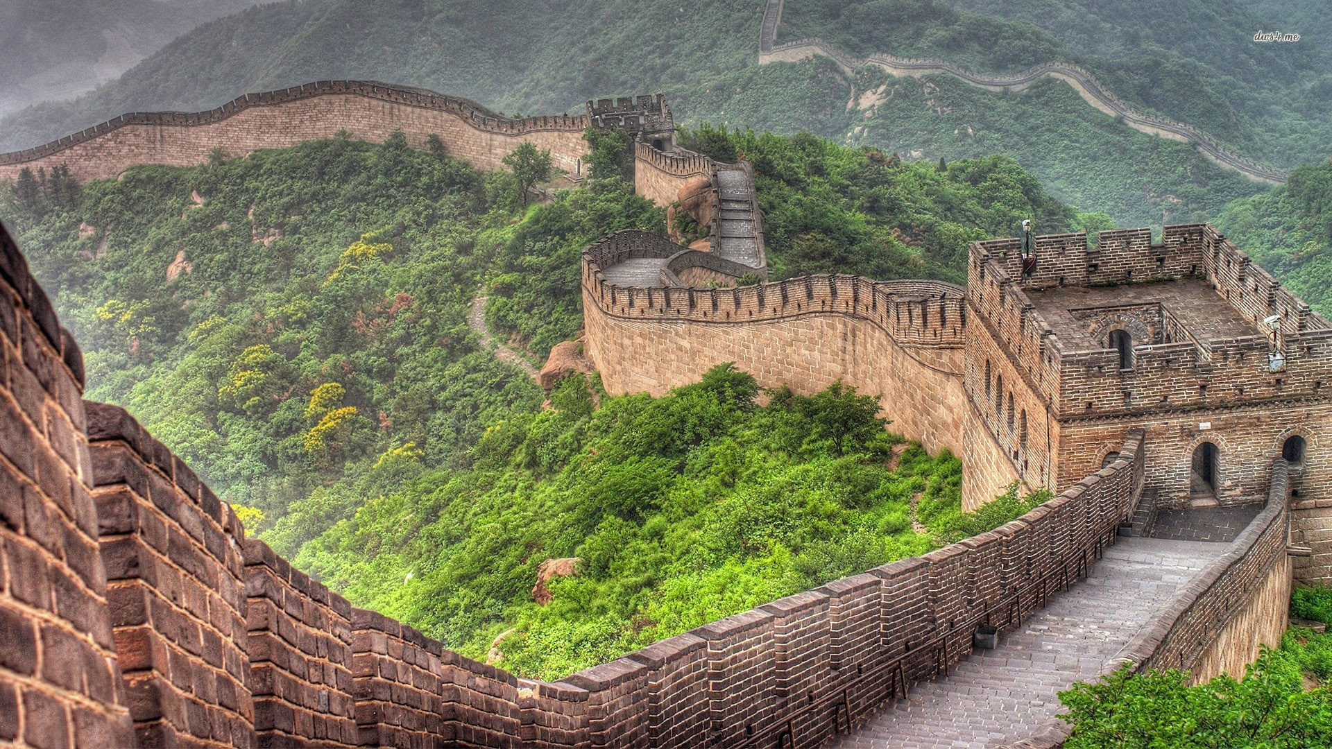 great wall of china hd wallpapers - travel hd wallpapers