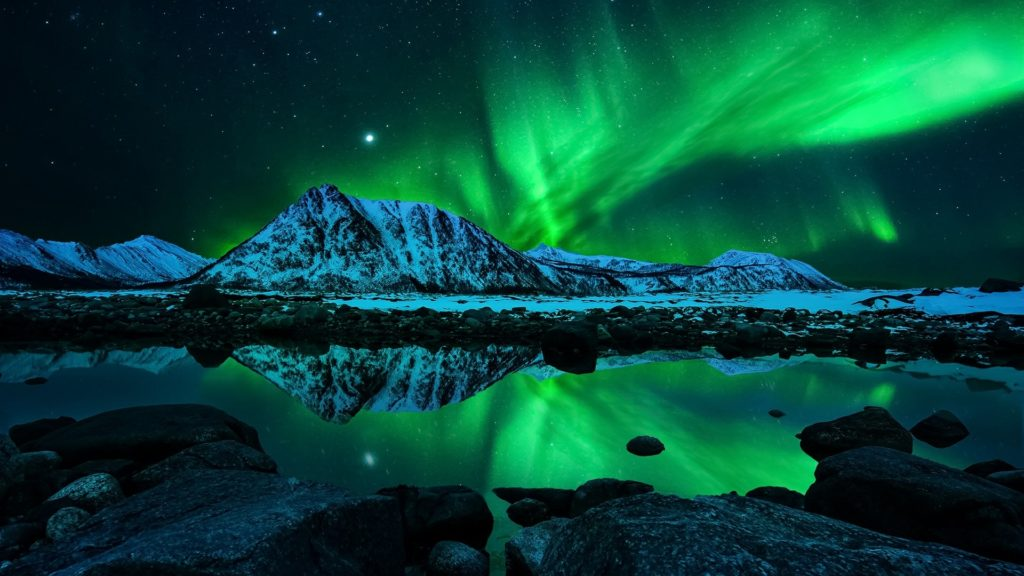 10 Best Aurora Lights Wallpaper Hd FULL HD 1080p For PC Desktop 2018 free download green aurora borealis reflection wallpaper wallpaper studio 10 1024x576