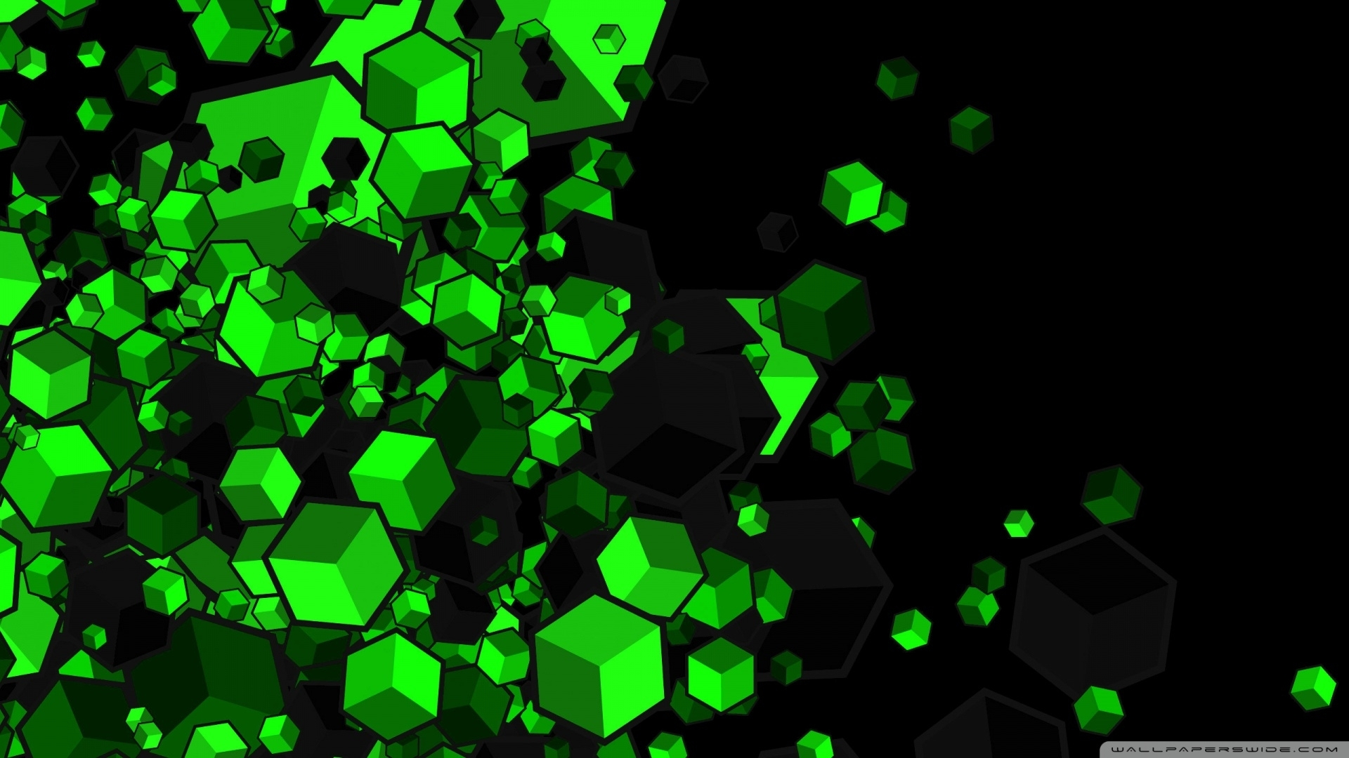 green cubes ❤ 4k hd desktop wallpaper for 4k ultra hd tv • tablet