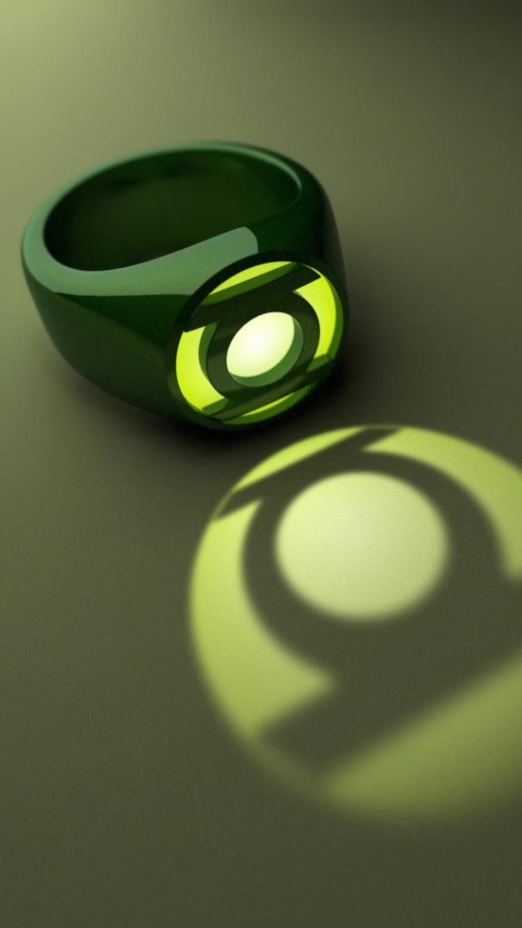 green lantern ring iphone wallpaper | heroes & villains | pinterest