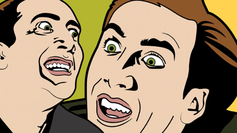 10 Best Nicolas Cage Meme Wallpaper FULL HD 1920×1080 For PC Desktop 2018 free download green yellow meme nicolas cage popart wallpapers 800x450