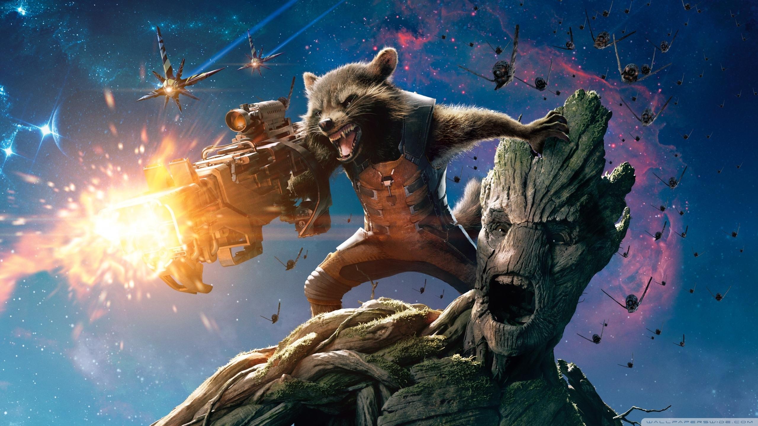 guardians of the galaxy groot and rocket raccoon ❤ 4k hd desktop