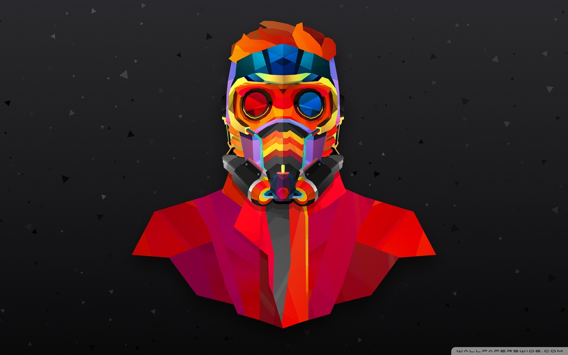 guardians of the galaxy star lord abstract art ❤ 4k hd desktop