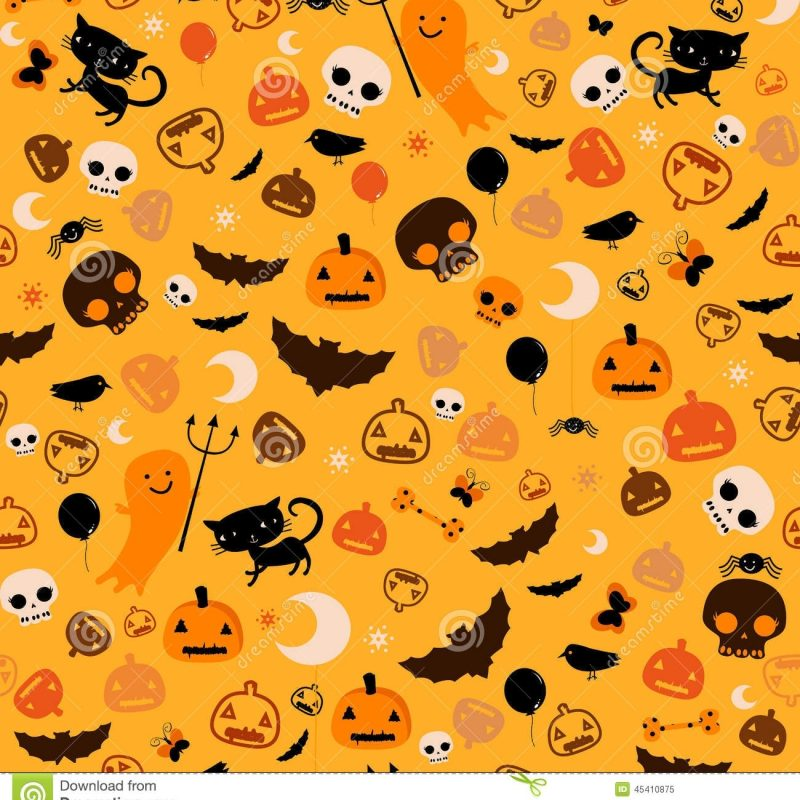 10 Top Free Cute Halloween Backgrounds FULL HD 1920×1080 For PC Background 2018 free download halloween background stock vector illustration of animal 45410875 800x800
