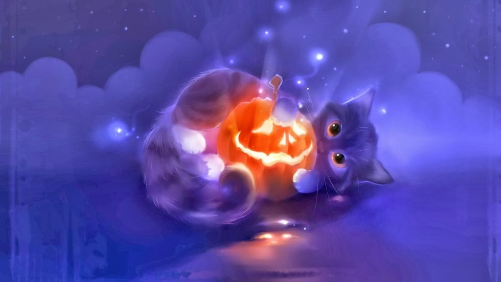 10 New Cute Cat Halloween Backgrounds FULL HD 1920×1080 For PC Desktop 2018 free download halloween cats and kittens halloween cute cat animal pumpkin 1024x576