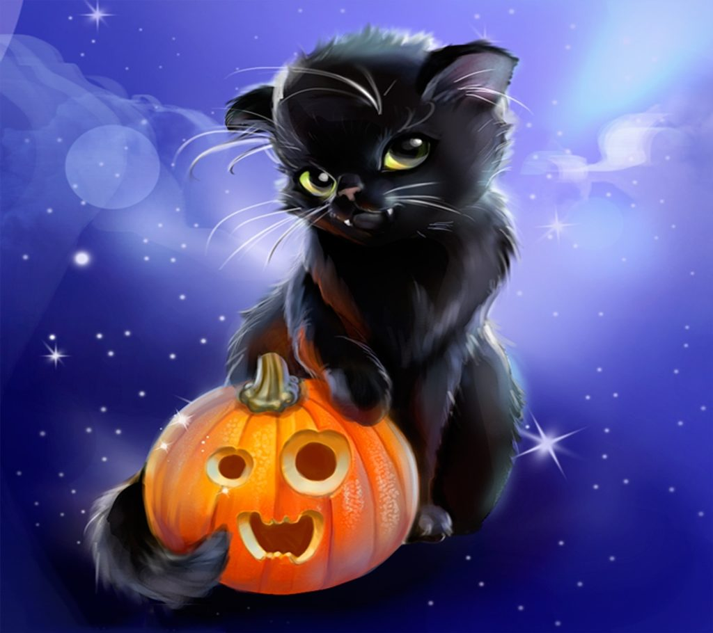 10 New Cute Cat Halloween Backgrounds FULL HD 1920×1080 For PC Desktop 2018 free download halloween cats for all album on imgur 1024x910