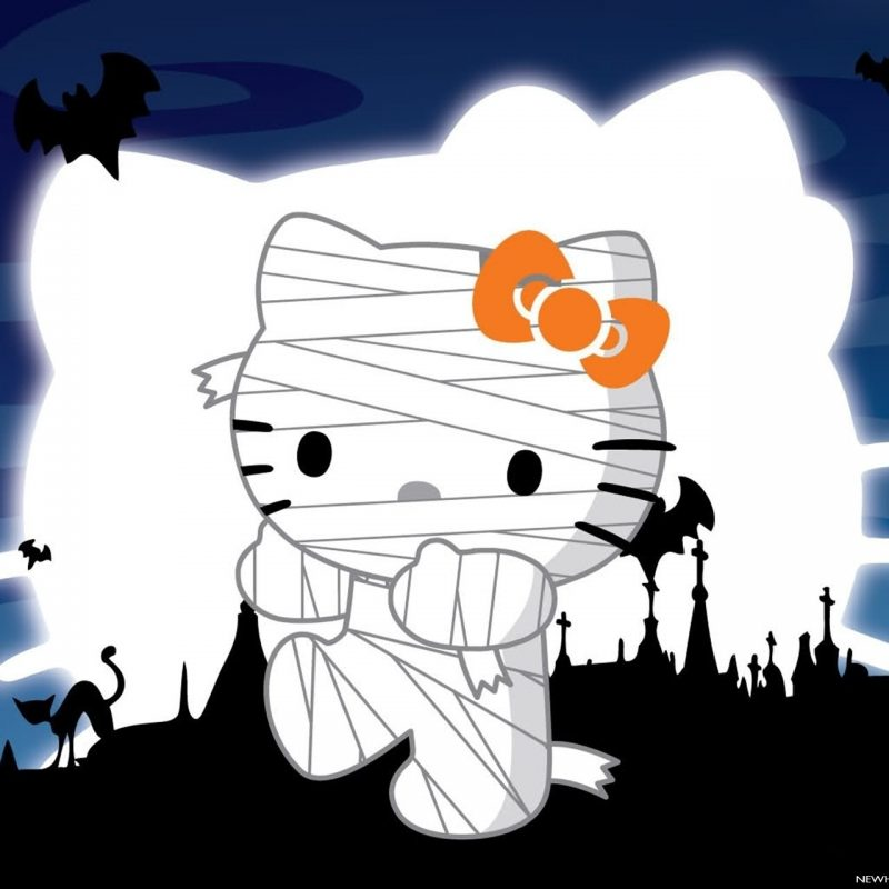 10 New Hello Kitty Halloween Wallpapers FULL HD 1920×1080 For PC Desktop 2018 free download halloween hello kitty turns into mummy wallpaper wallpapers new hd 800x800