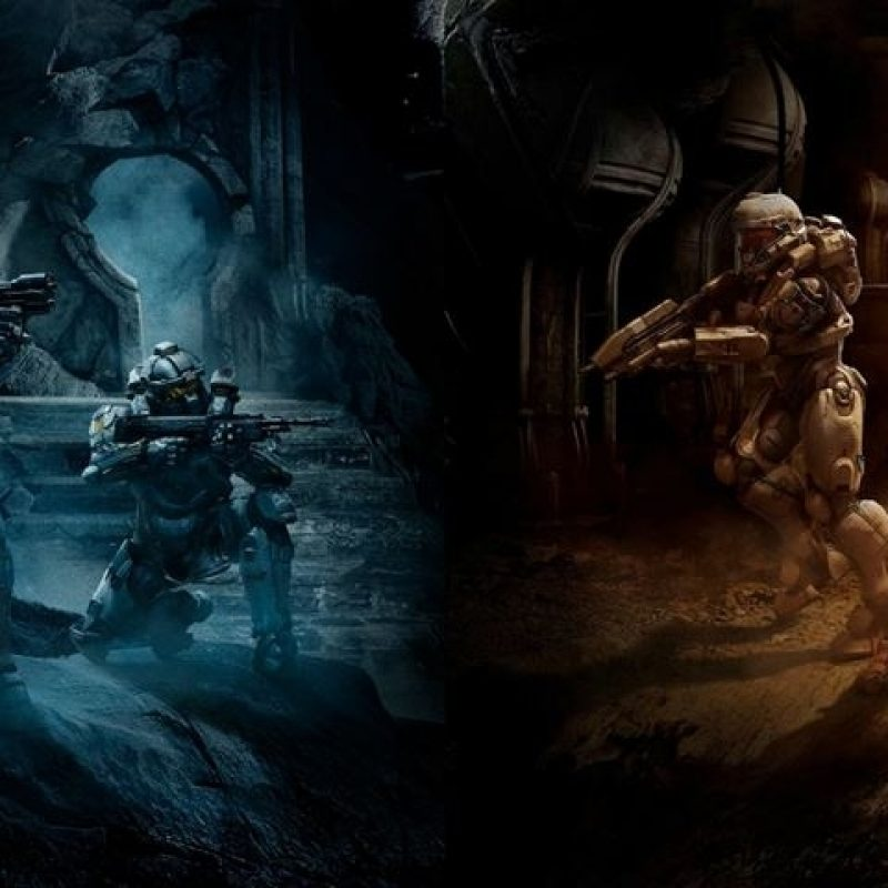 10 Top Halo Dual Monitor Wallpaper FULL HD 1920×1080 For PC Desktop 2018 free download halo 5 guardians dual screen e280a2 images e280a2 wallpaperfusionbinary 800x800