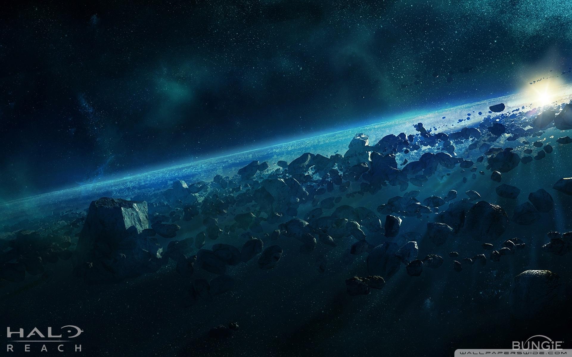 halo reach, asteroid ❤ 4k hd desktop wallpaper for 4k ultra hd tv