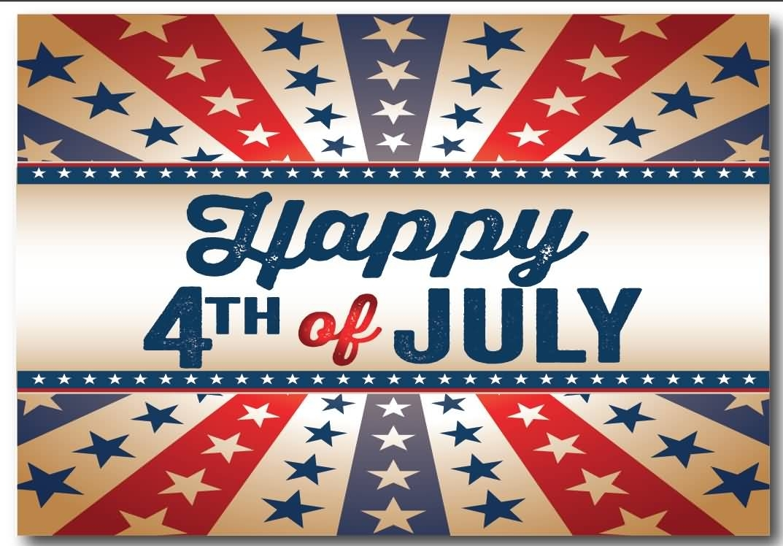 happy 4th of july wishing wallpaper - golfian
