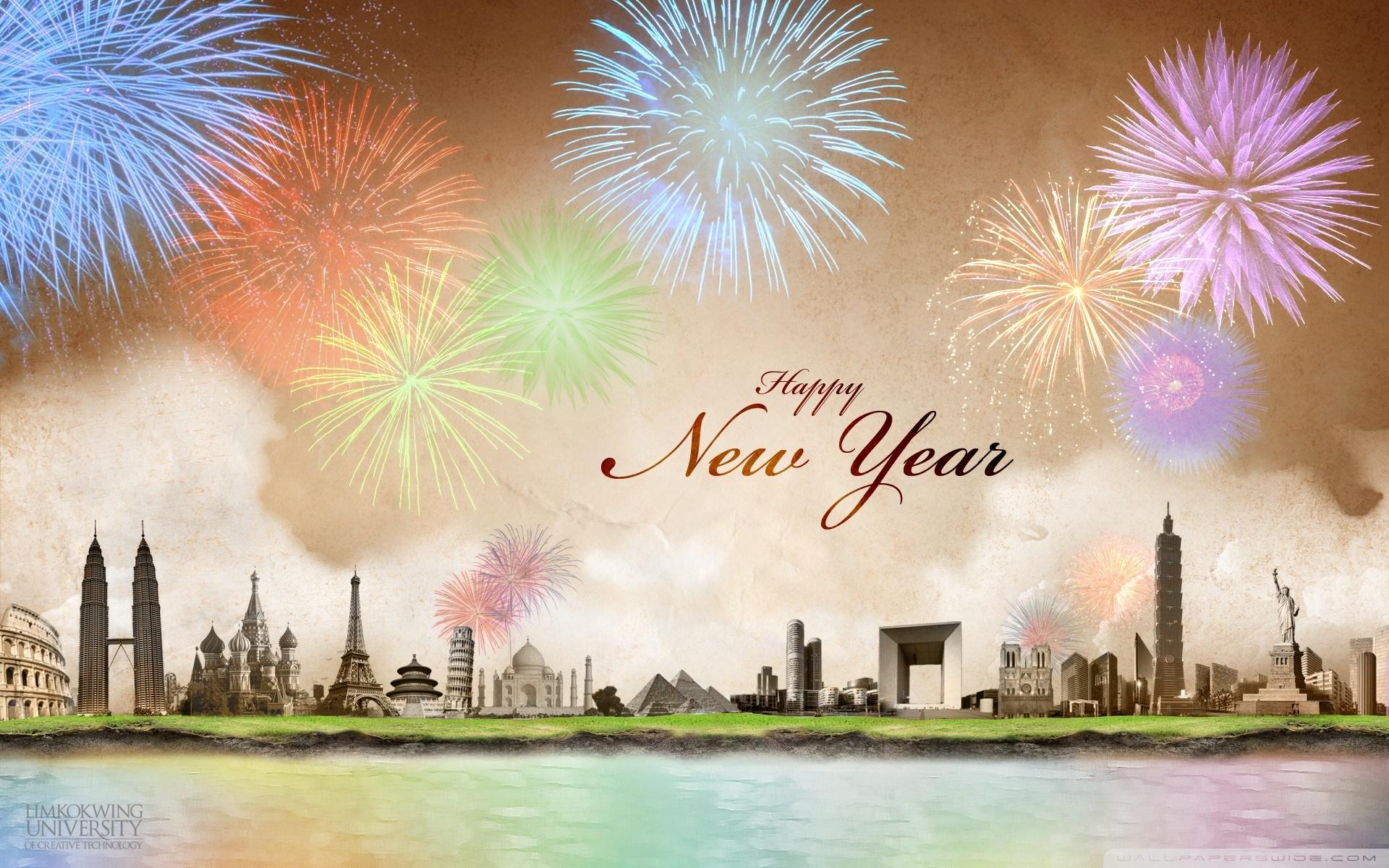 happy new year ❤ 4k hd desktop wallpaper for 4k ultra hd tv • wide