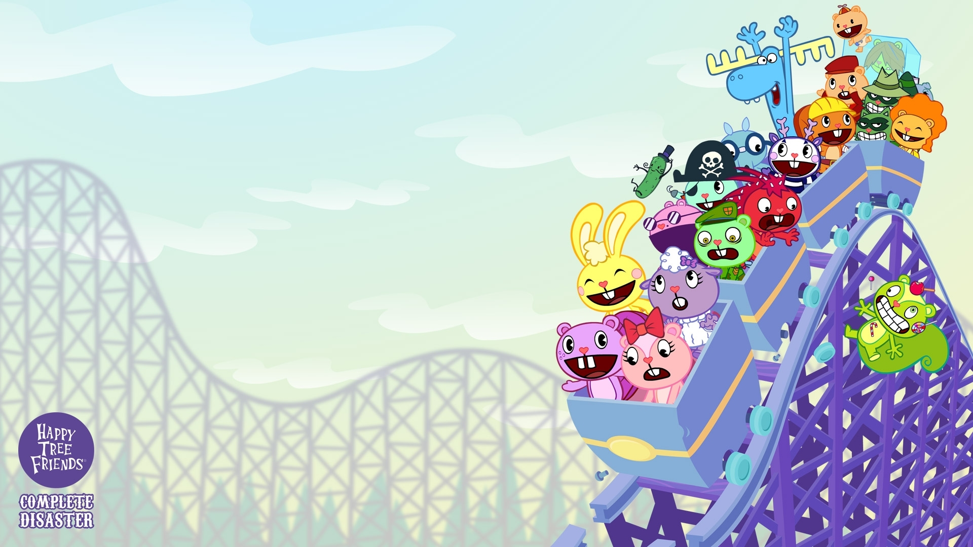 happy tree friends: complete disaster wallpapers - happy tree