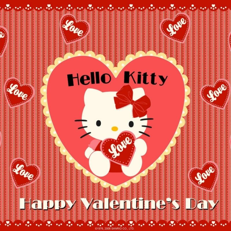 10 Most Popular Hello Kitty Valentines Day Wallpaper FULL HD 1920×1080 For PC Desktop 2018 free download happy valentine day hello kitty wallpaper wallpaper wiki 800x800