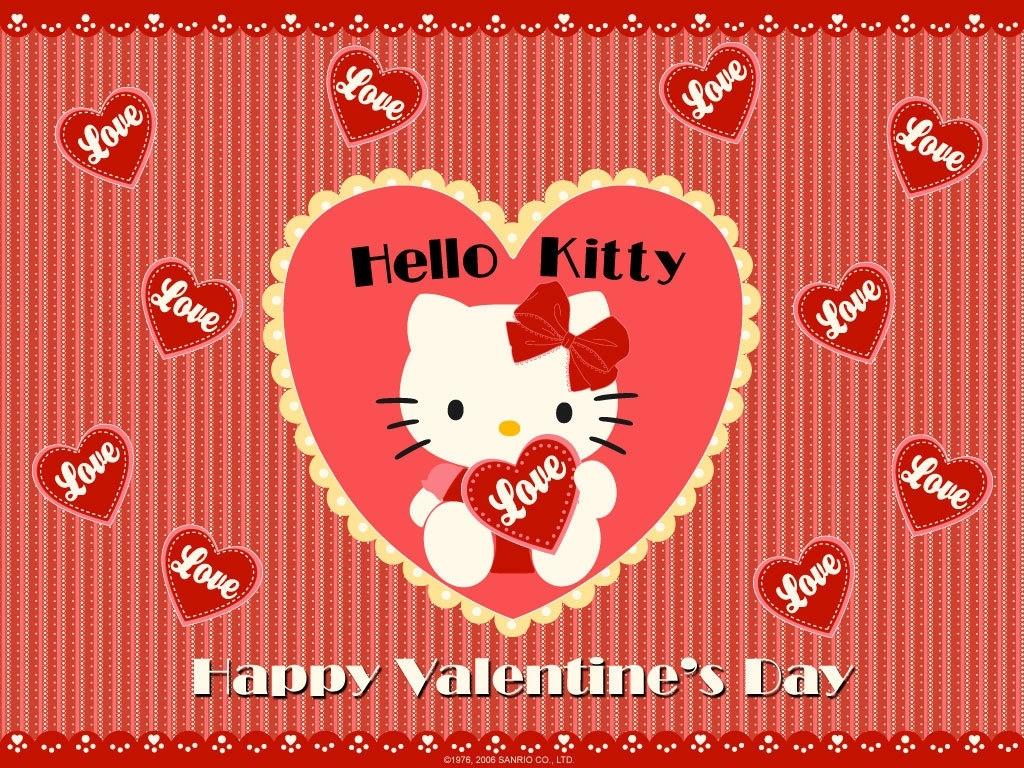 happy-valentine-day-hello-kitty-wallpaper - wallpaper.wiki