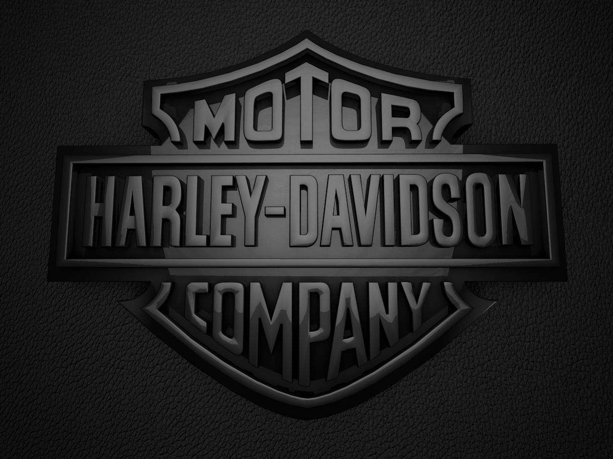 harley davidson 3d logos black | harley davidson | pinterest | 3d