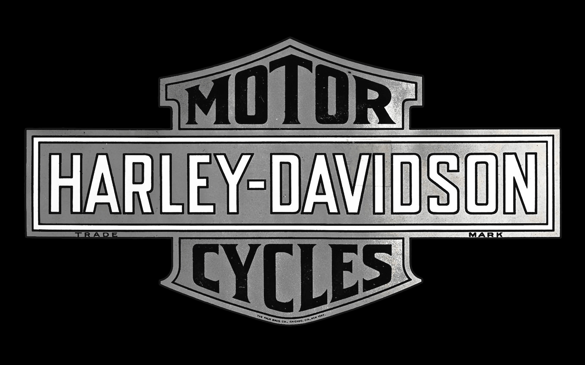 10 Latest Black Harley Davidson Logo FULL HD 1920×1080 For ...