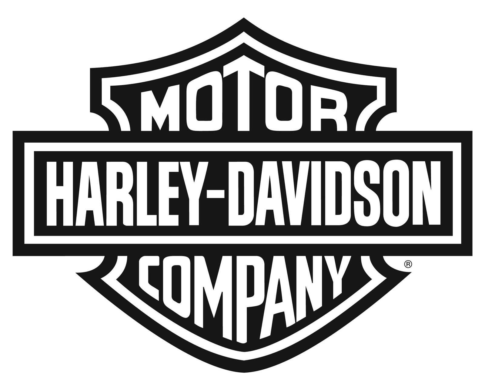 harley logo black and white vector | harley davidson | pinterest
