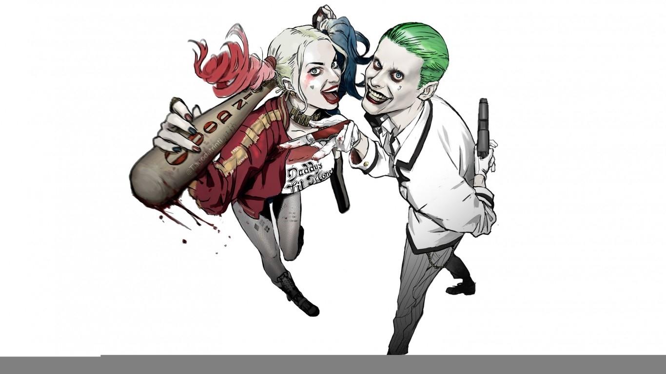 10 New Joker Harley Quinn Wallpaper Full Hd 1920 1080 For Pc Background