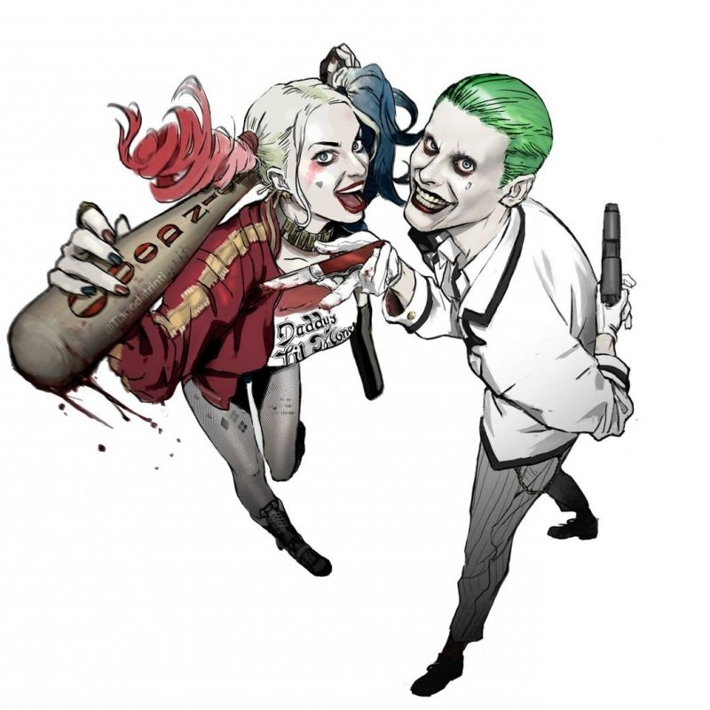 10 Latest Joker And Harley Quinn Wallpaper Full Hd 1920 1080 For Pc