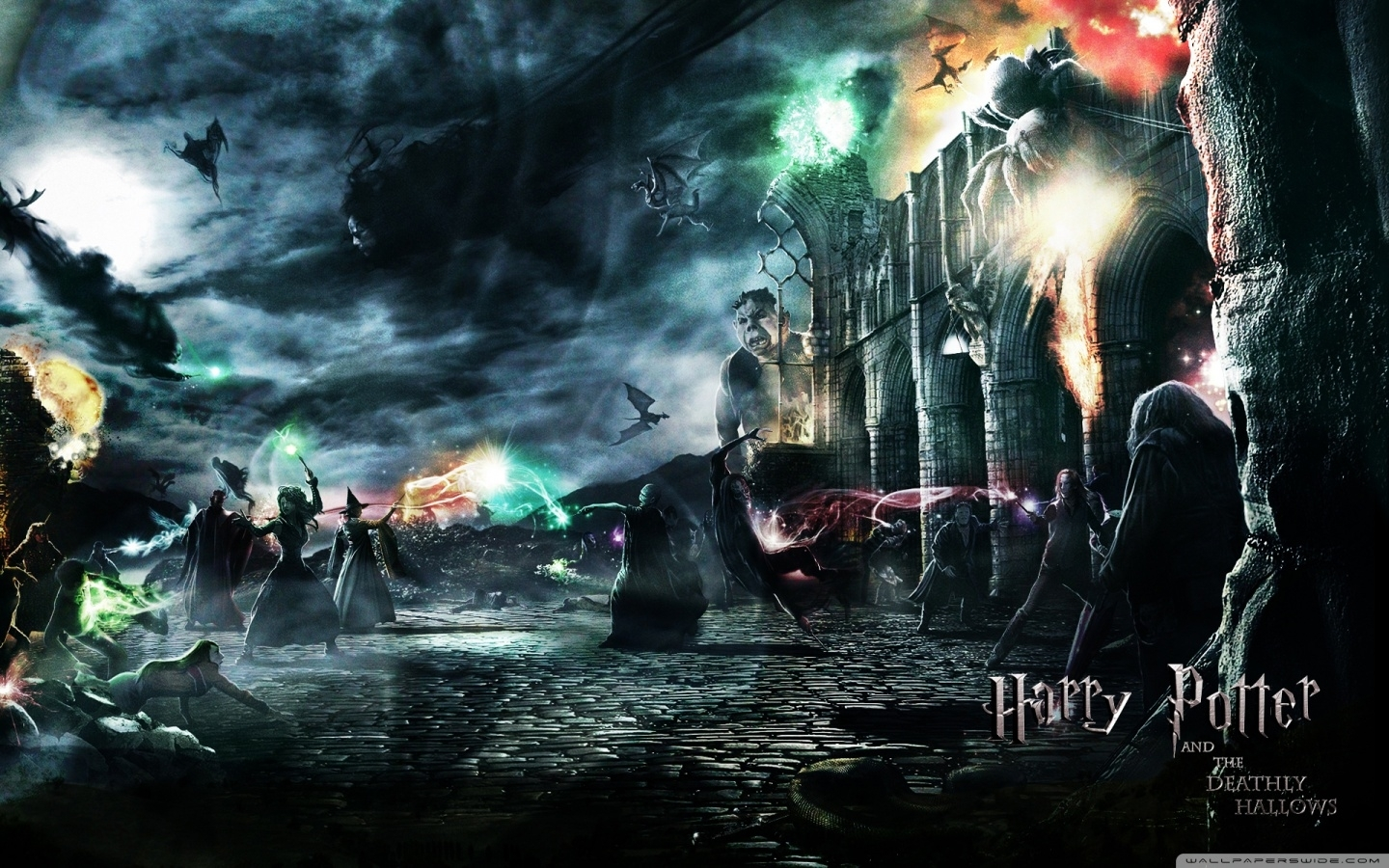 harry potter and the deathly hallows ❤ 4k hd desktop wallpaper