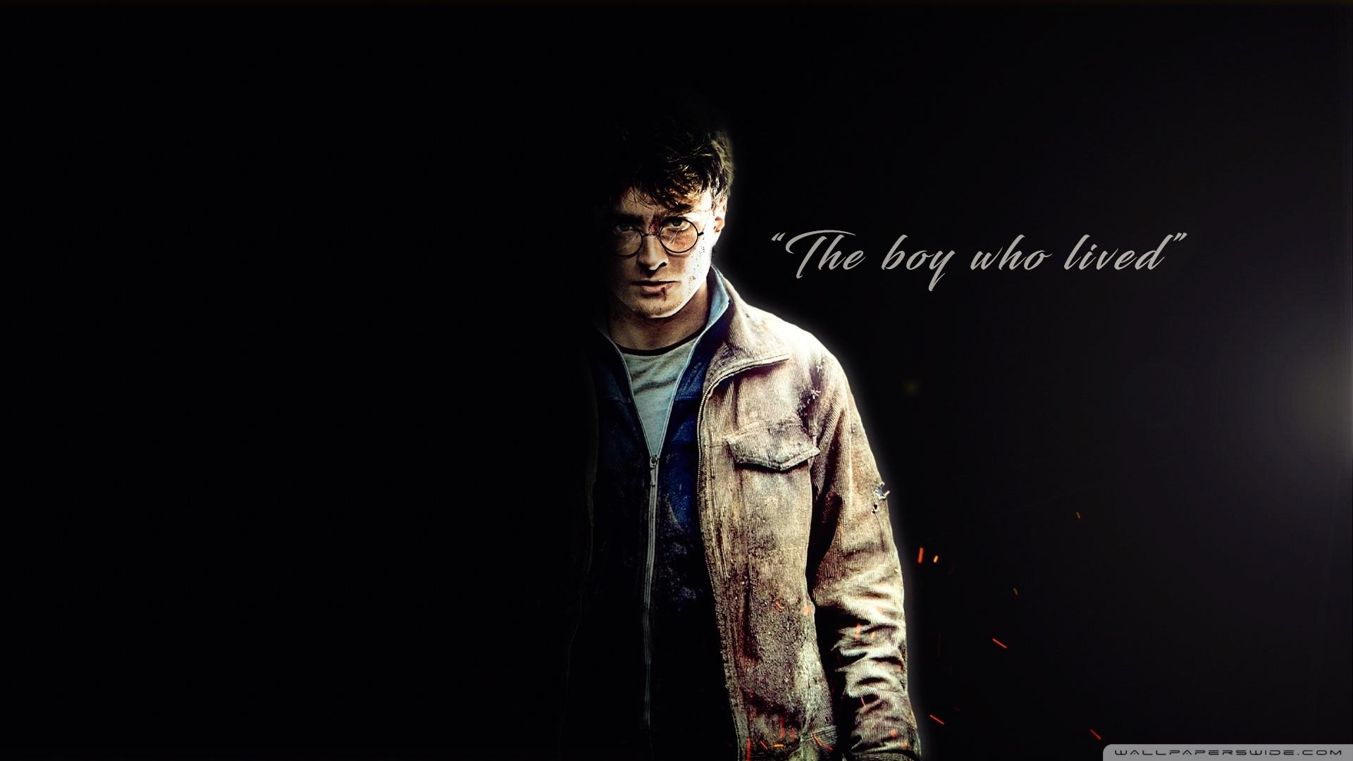 harry potter - the boy who lived ❤ 4k hd desktop wallpaper for 4k