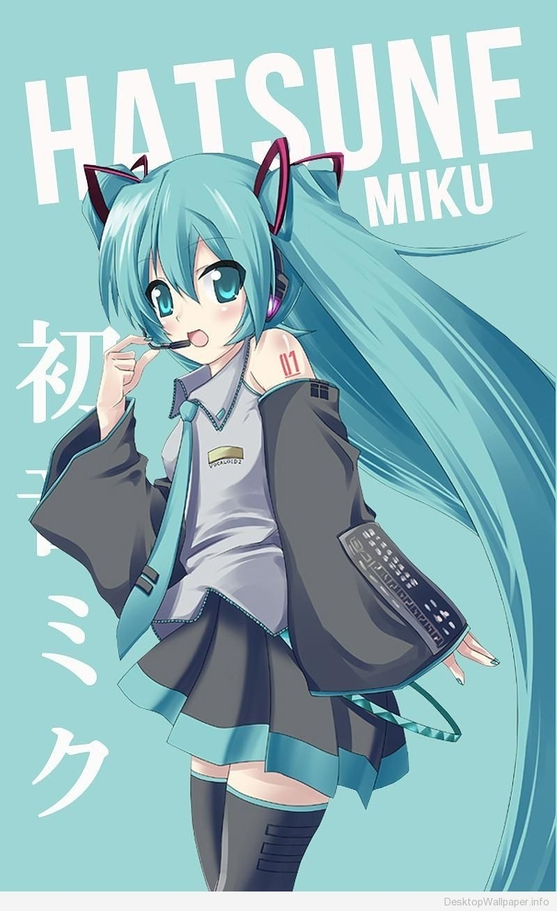hatsune miku wallpaper for android - http://desktopwallpaper