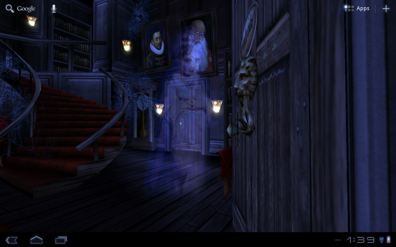 haunted house hd live wallpaper, just in time for halloween [video