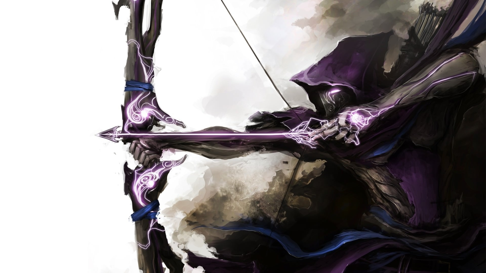 hawkeye bow & arrow wallpaper | digitalart.io
