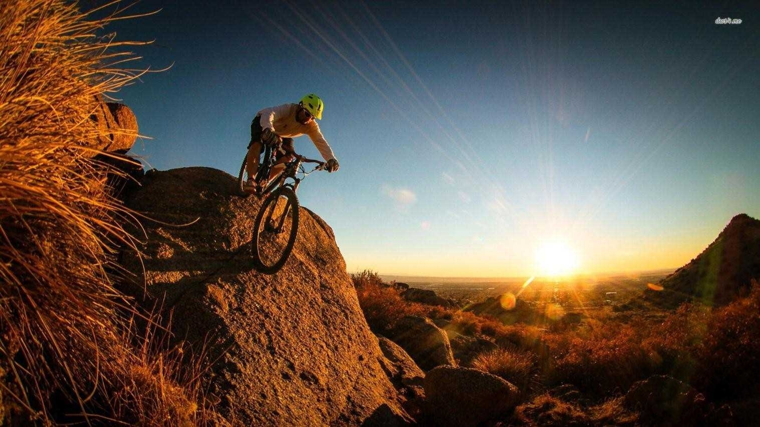 hd desktop high definition mountain mountain bike wallpaper biking