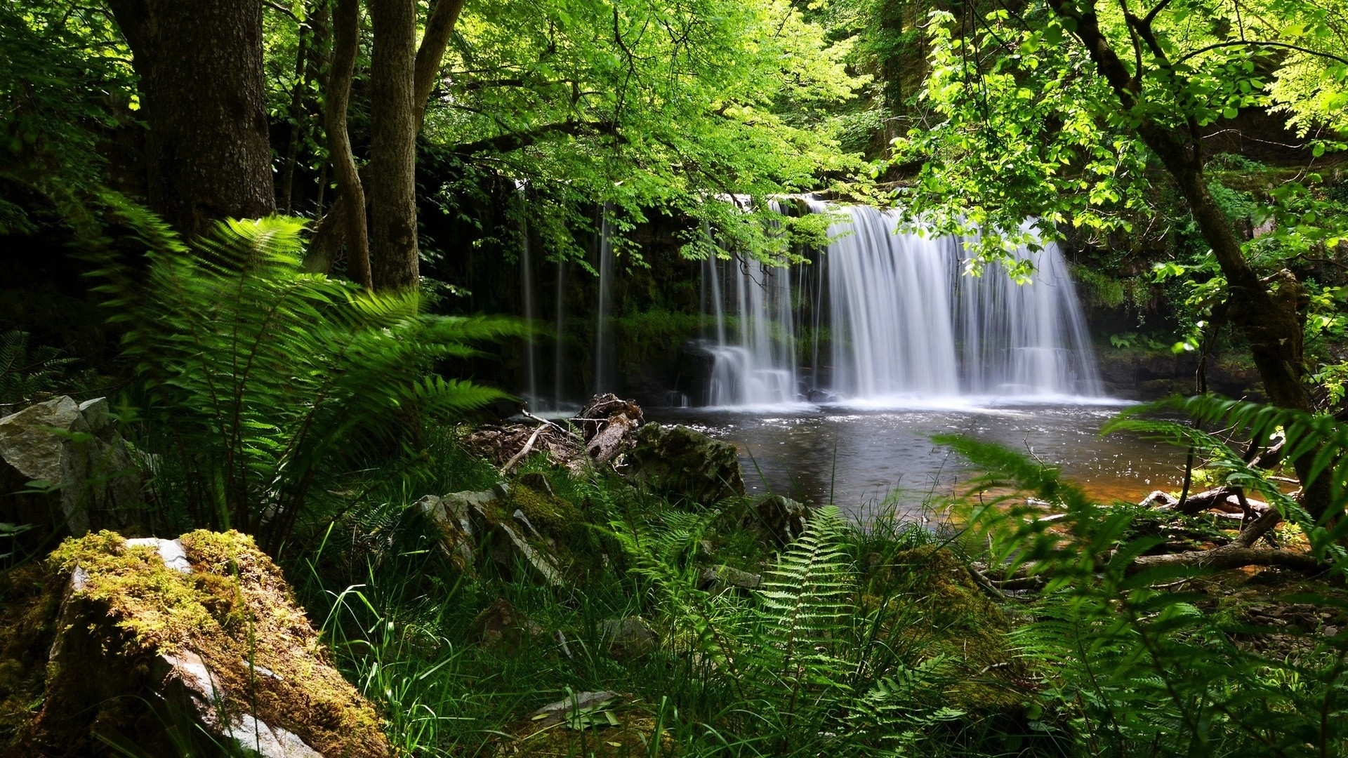 10 new hd waterfall wallpapers 1080p full hd 1080p for pc desktop