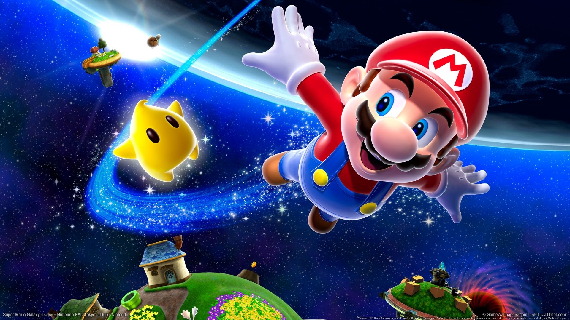hd photo super mario galaxy wallpaper - hd wallpapers and desktop