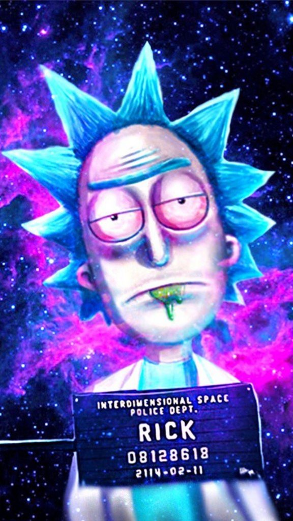 10 Best Trippy Rick And Morty Wallpaper FULL HD 1080p For PC Desktop 2020 free download hd rick and morty cartoon network iphone wallpaper best iphone 576x1024