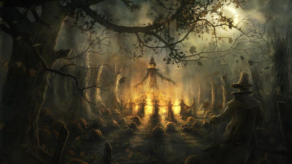 10 New Scary Halloween Wallpapers Hd FULL HD 1080p For PC Desktop 2020 free download hd scary halloween wallpapers media file pixelstalk 1024x576