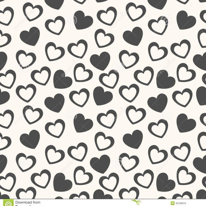 10 Most Popular Heart Background Black And White FULL HD 1920×1080 For PC Desktop 2021 free download heart shape vector seamless pattern black and stock vector 800x800