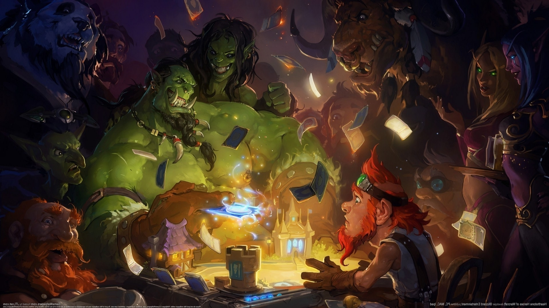 hearthstone wallpapers ·①