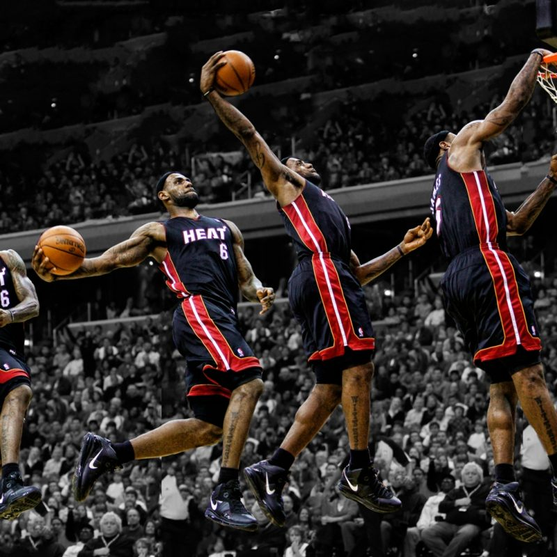 10 Best Lebron James Dunks Pictures FULL HD 1920×1080 For PC Background 2018 free download heat nation videos all 141 lebron james dunks from 2013 2014 heat 800x800