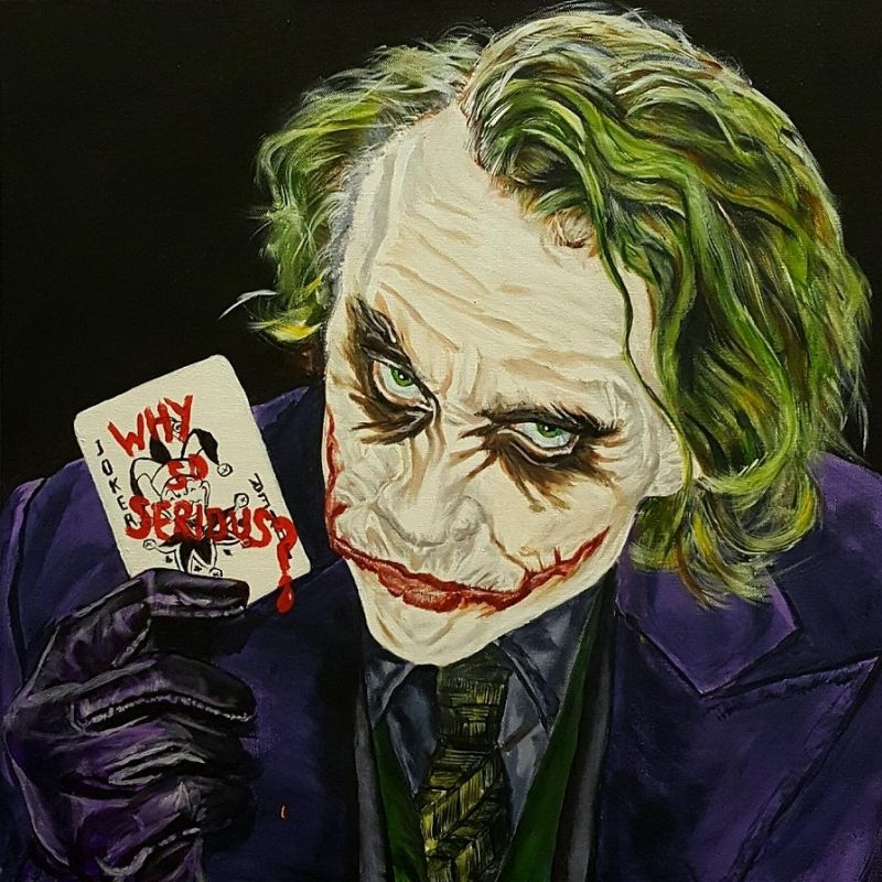 10 New Heath Ledger Joker Pic FULL HD 1080p For PC Desktop 2018 free download heath ledger the joker paintingdavid peninger 1 800x800