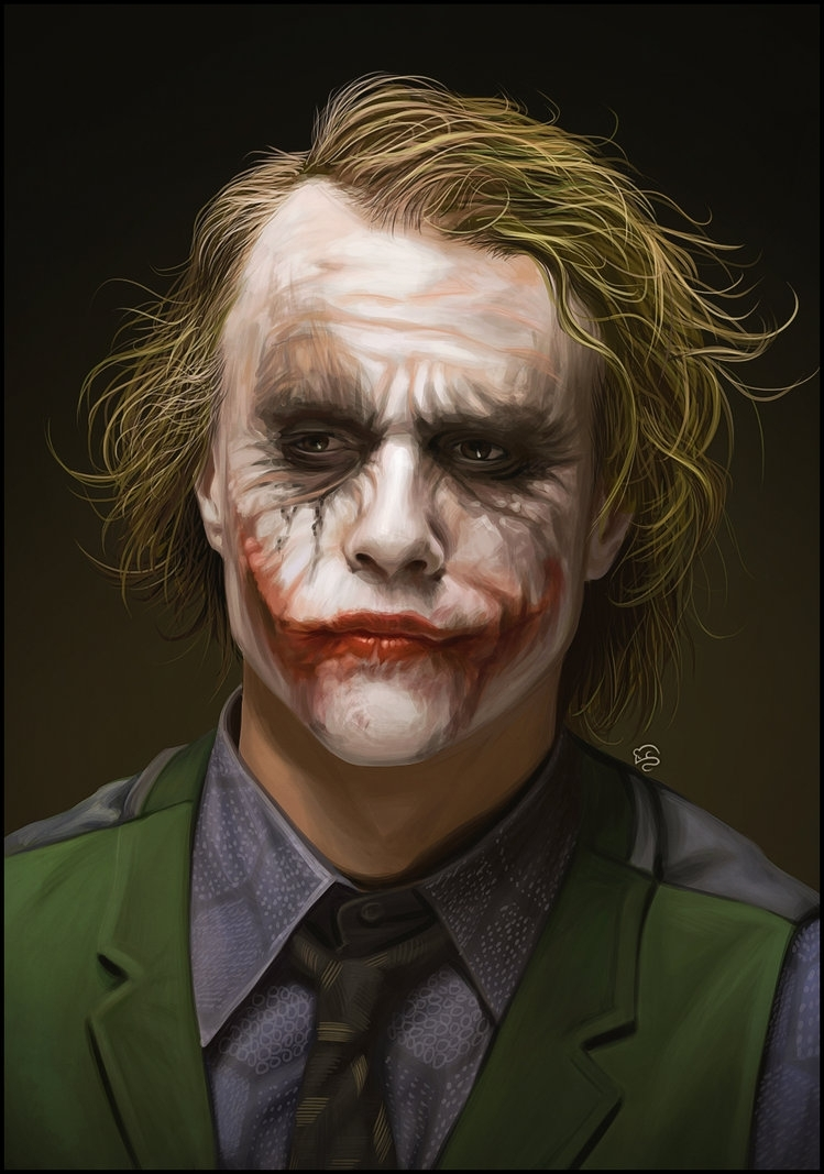 heath ledger's jokertovmauzer on deviantart