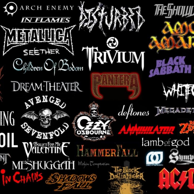 10 Most Popular Heavy Metal Band Wallpaper FULL HD 1920×1080 For PC Background 2018 free download heavy metal bands wallpapers group 74 800x800
