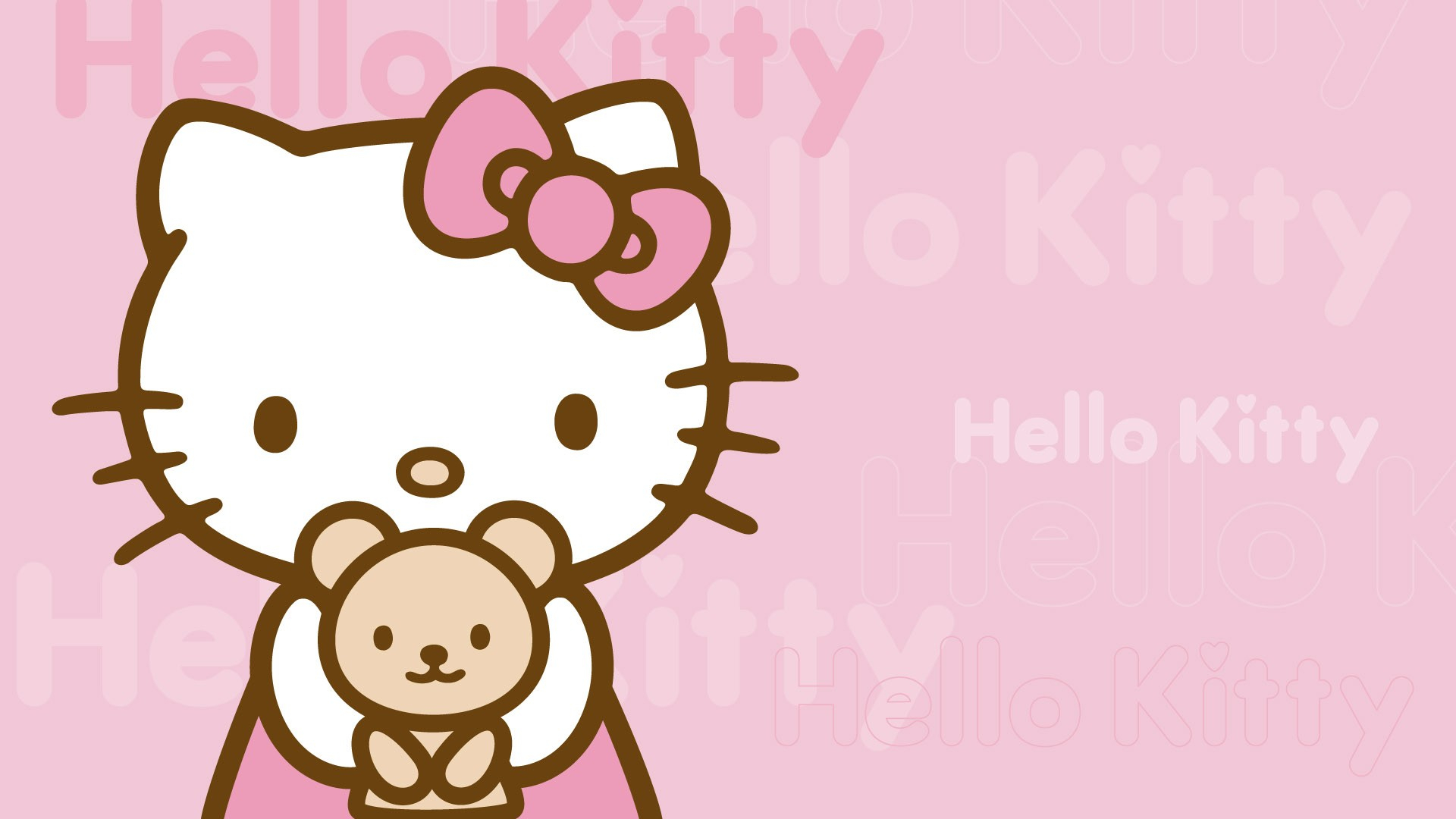 hello kitty desktop background - 8wallpapers