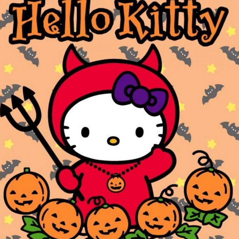10 New Hello Kitty Halloween Wallpapers FULL HD 1920×1080 For PC Desktop 2018 free download hello kitty halloween wallpaper download free media file 800x800