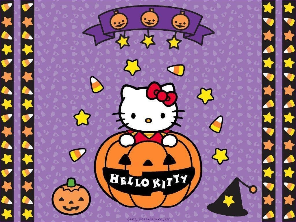hello kitty halloween wallpapers - wallpaper cave