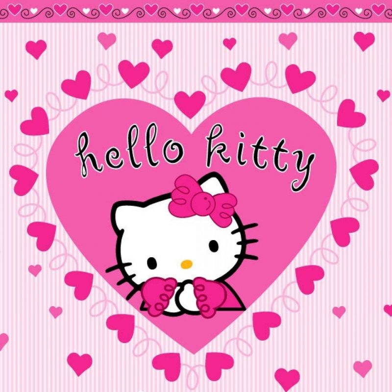 10 Most Popular Hello Kitty Valentines Day Wallpaper FULL HD 1920×1080 For PC Desktop 2018 free download hello kitty white cartoon cat valentines day wallpapers and 800x800