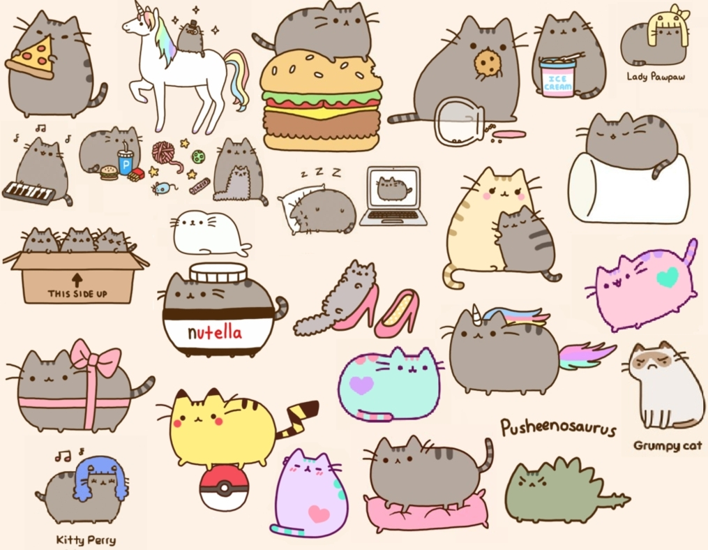 10 Best Pusheen The Cat Wallpaper FULL HD 1920×1080 For PC Background 2020 free download heres a cool wallpaper pusheen pinterest pusheen wallpaper