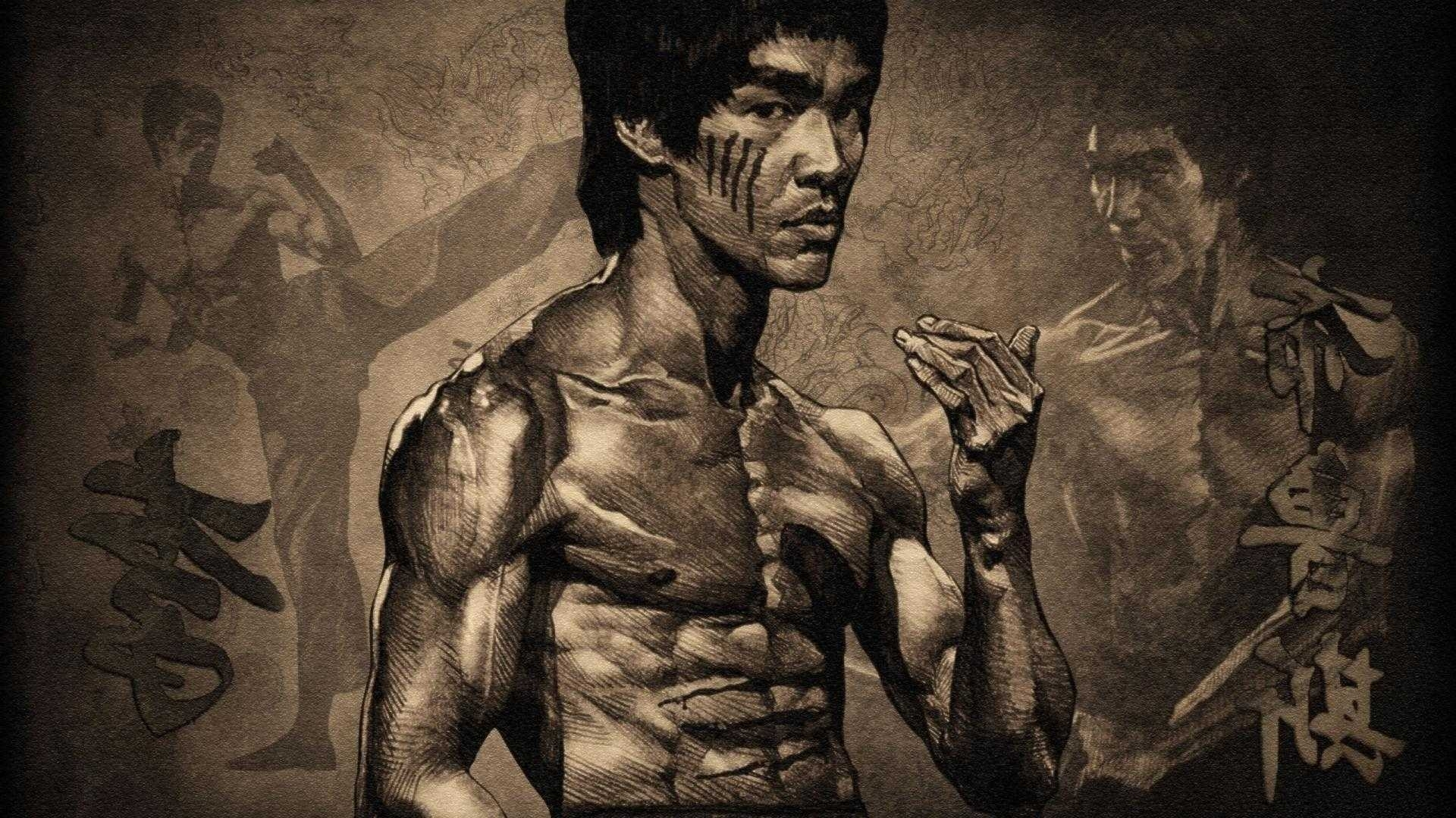 high quality for bruce lee wallpaper resolution desktop | wallvie