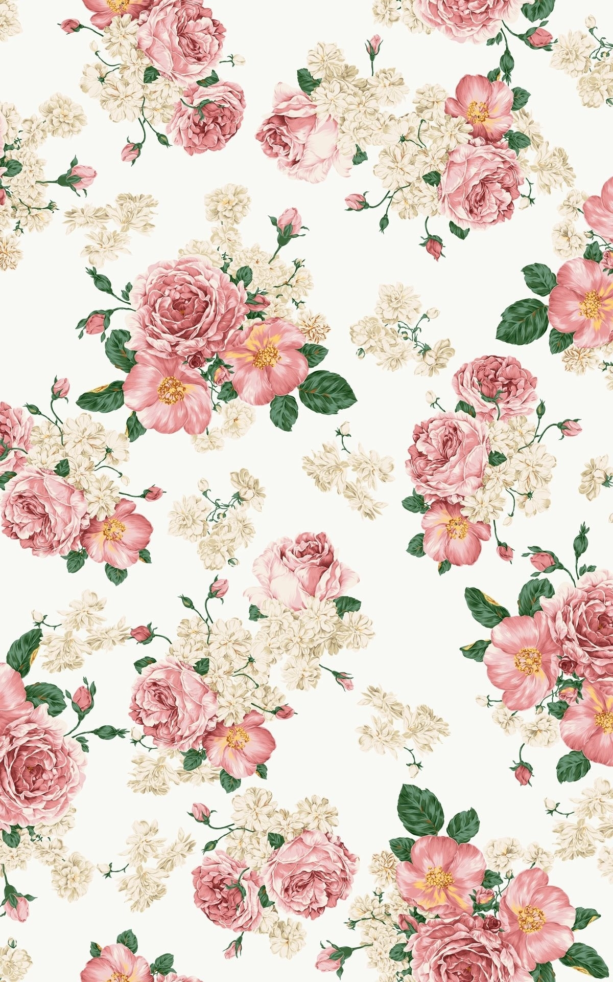 10 Top Pink Vintage Flowers Wallpaper FULL HD 1920×1080 For PC Background