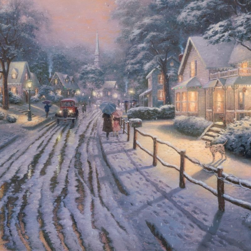 10 Top Thomas Kinkade Christmas Wallpaper Desktop FULL HD 1080p For PC Background 2018 free download hometown christmas memoriesthomas kinkade e29da4 4k hd desktop 1 800x800