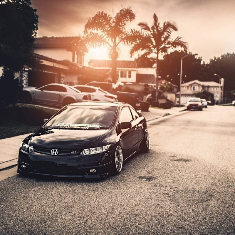 10 Best Honda Civic Si Wallpaper FULL HD 1920×1080 For PC Background 2018 free download honda civic si black stance town hd wallpaper 800x800