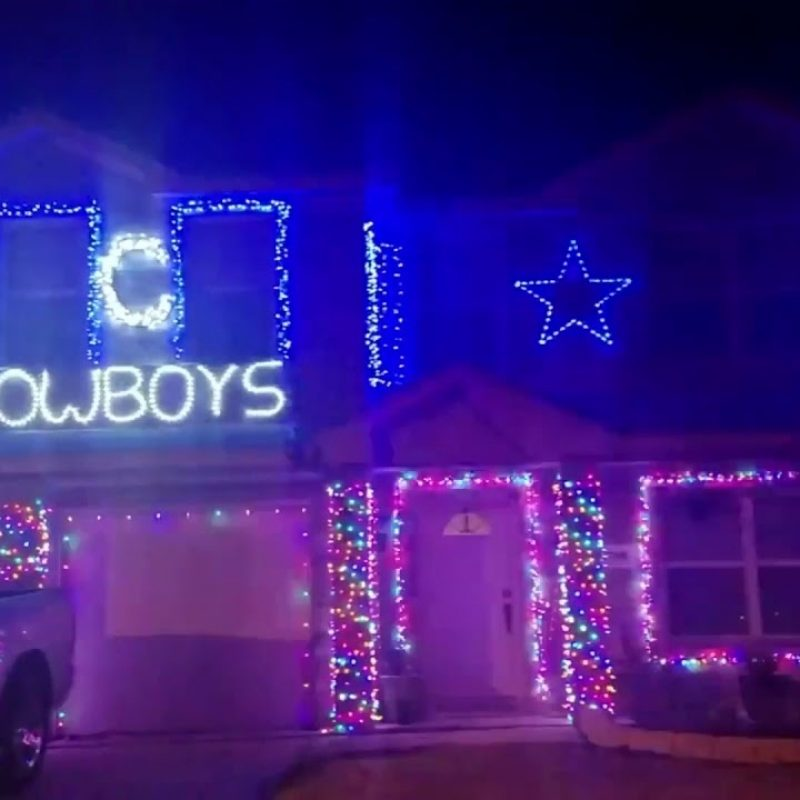 10 Best Dallas Cowboys Christmas Pictures FULL HD 1080p For PC Desktop 2020 free download house with dallas cowboys decorations for christmas youtube 800x800